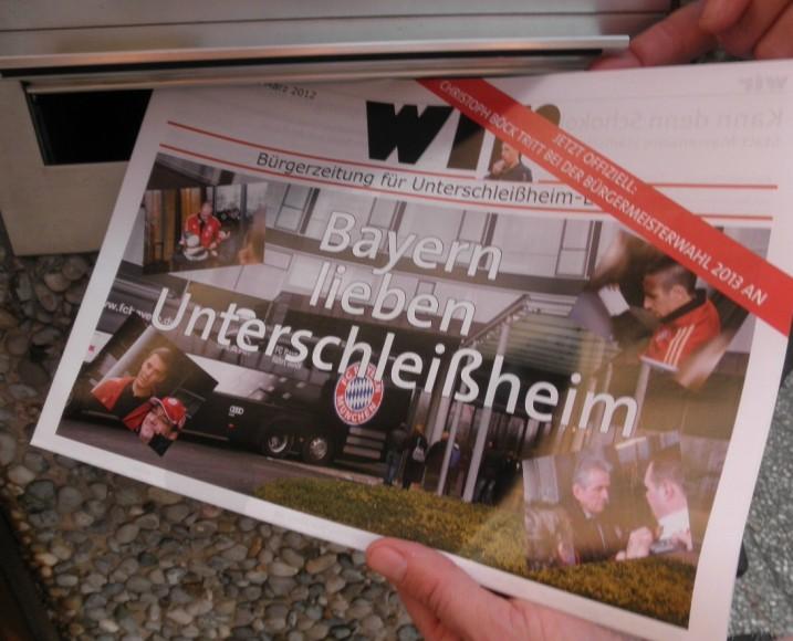 """Bürgerzeitung """"wir"""" Nr. 51 vom 23. März 2012"""
