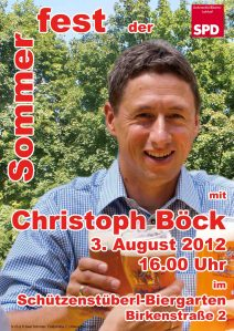 SPD-Sommerfest am 3. August 2012