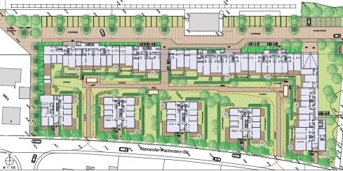 Planungsstudie BayWa-Gelände