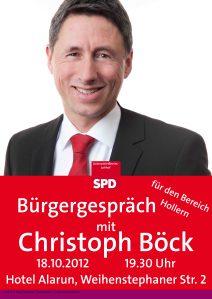 Bürgergespräch Hollern mit Christoph Böck