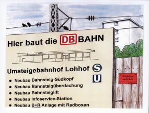 Von der S-Bahn in die U-Bahn umsteigen! Der Ausbau des ÖPNV ist eine zentrale Zukunftsaufgabe.