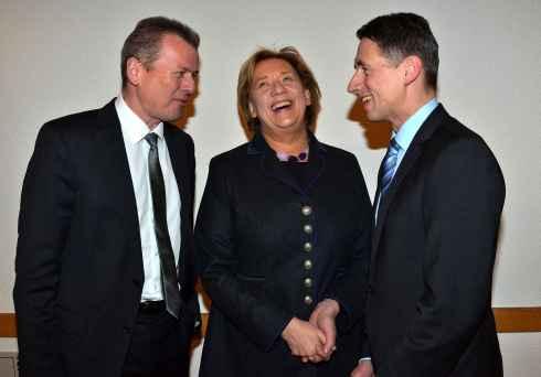 Dr. Ulrich Maly, Johanna Rummschöttel, Christoph Böck